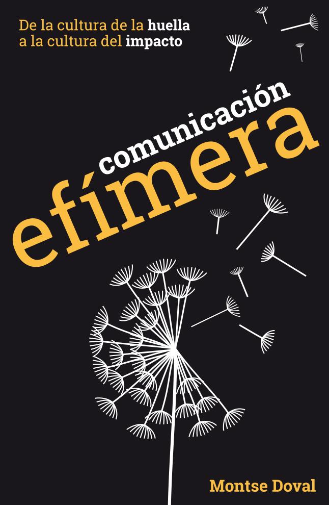 Portada del libro Comunicación efímera
